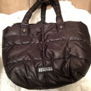 Kenneth Cole Reaction purse puffer jacket material